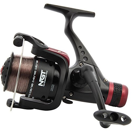 NGT CKR50 Coarse Fishing Reel with 8lb Line, Black