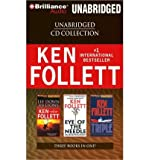 Ken Follett CD Collection: Lie Down with Lions/Eye of the Needle/Triple (CD-Audio) - Common