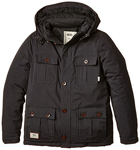 Vans B Mixter Ii Boys Pirate Black Manteau Impermeable Garcon