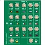 1 x SAFE 7341-8 / 2 EUROMÜNZEN Premium Vordruckblatt Nachtrag 2012 Sonderblatt 10 Jahre Euro 2002 - 2012 + 1x 7393 Ergänzungsblatt Münzhüllen für SAFE 2 EURO Münzalbum 7341