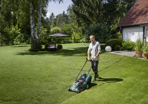 Bosch Rotak 43 LI Ergoflex Cordless Lawn Mower, Cutting Width 43 cm – Battery and Charger Not included