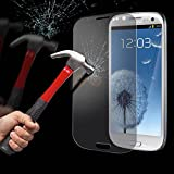Subex IT Samsung Galaxy i9300 S3 Clear Tempered Glass Screen Protector Guard Cover