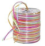 Pattberg Präsent 50-m-Spule Raffia-Multicolour - Dekobastband, bunt