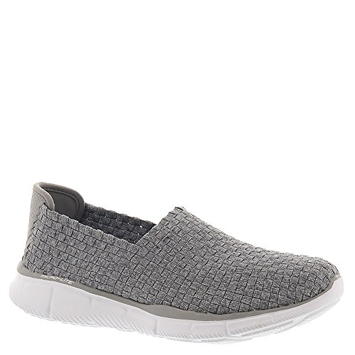 Skechers Womens Equalizer Dream on 12032 Slip on Walking Shoe, Grey, US 9.5