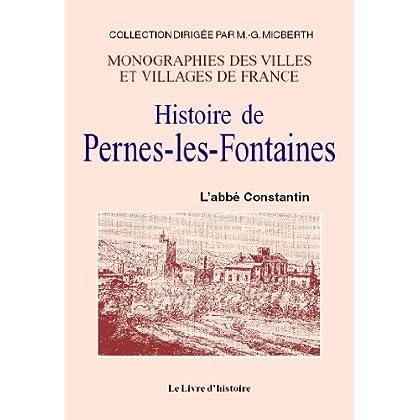 Histoire de Pernes-les-Fontaines