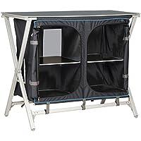 Mehrzweckschrank Faltschrank Stoffschrank Zeltschrank Schrank Universalschrank Siehe Beschreibung Aluminium Campingschrank mit 4 Schubladen inklusive Einlegeb/öden