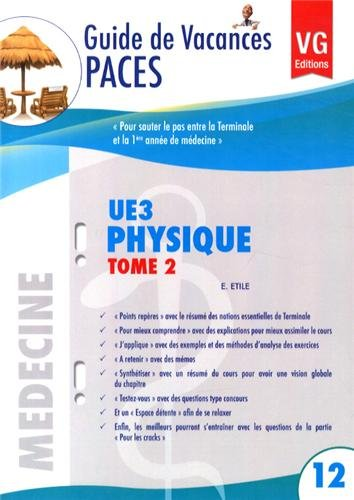 Physique UE3 : Tome 2