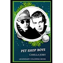 Pet Shop Boys Legendary Coloring Book: Relax and Unwind Your Emotions with our Inspirational and Affirmative Designs: 0 (Pet Shop Boys Legendary Coloring Books)