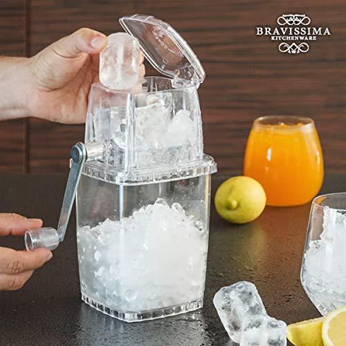 Ice Crusher 12 x 12 x 23 cm transparent, Eiscrusher, Eiszerkleinerer