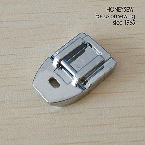 honeysew 7306un produit domestique Invisible Pied fermeture éclair à rabat sur fermeture éclair invisible pour machine à tige basse