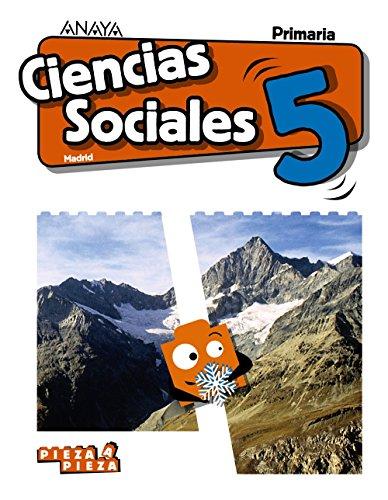 Ciencias Sociales 5. (Pieza a Pieza) por José Kelliam Benítez Orea