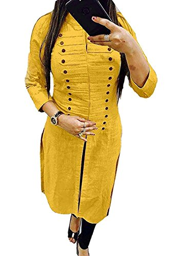 BEST party wear Women's Designer kurti - COMFORTABLE Princess cut stitched Long...