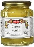 ERIC BUR Citrons Confits 160 g - Lot de 3