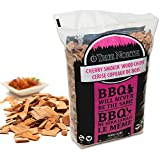 Cherry smoking / smoker wood chips - for Smokers , BBQ's, Ovens , Smoking tins : 900g