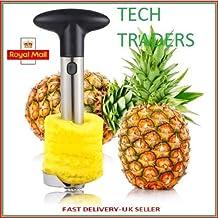 Tech Traders® Nueva acero inoxidable cortador de fruta piña Corer cortador pelador kitchen-life garantía de por