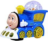 #8: Techhark Little 3D Cartoon Train Toy With Lights & Music Gift For Kids(Color May Vary)