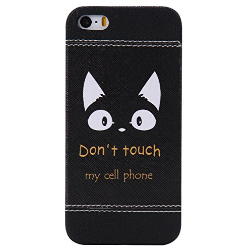 iPhone 6 Plus hülle,iPhone 6s Plus hülle,Ekakashop Niedlich Comic Style Orecchiette Muster PC + TPU Weiche Silikon Praktisch Back Bumper Case Cover Defender Protective Schutzhülle Handyhülle Tasche Et Orecchiette