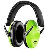 Kinder Gehörschutz, Mpow Gehörschutz für Kinder, lärmschutz kopfhörer, Gehörschutz für Konzert, Karneval Oder Feuerwerk, Verstellbare Stirnband Ohrenschützer für Lärm bis 98dB - NRR 25dB Hörschutz