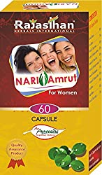 Rajasthan Herbals International Nari Amrut Capsule for treating PCOS, PCOD & Menstruation problems