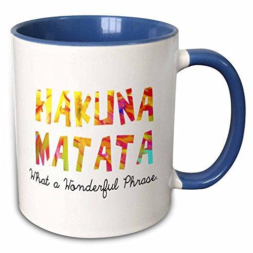 Mensuk Hakuna Matata. What a Wonderful Phrase. - Ceramic Mug, 11-Ounce (mug_193344_1)
