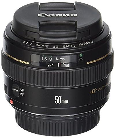 Canon EF 50mm 1:1.4 USM Objektiv (58 mm Filtergewinde)