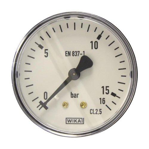 Wika Manometer (Manometer, NG63, 0-16 bar - WIKA 111.12 - 9083960)