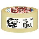 Ruban adhésif d'emballage polypoprylene transparent qualité supérieure, 60 micr, 50x66m TESA 57167