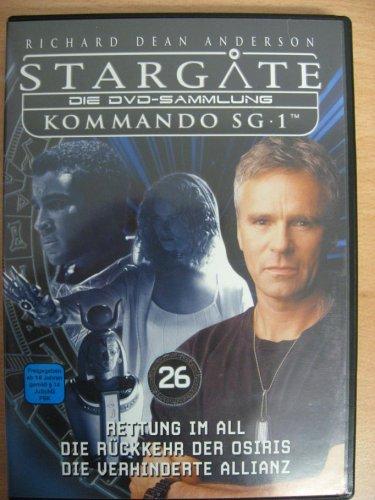 Stargate Kommando SG 1 - Rettung im All / Die Rückkehr der Osiris / Die verhinderte Allianz - Die DVD-Sammlung: DVD 26