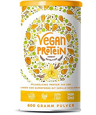 Organic Alpha - Vegan Protein with Protein from Rice, Hemp,