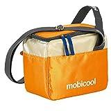 Mobicool Sail 6 Kühltasche Kühlbox 5 Liter - lebensmittelechte Picknick Tasche mit Schultergurt | Kühlsystem Isolierung (Orange)