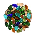 Make your aquarium more beautiful with 'AsianHobbyCrafts' Marble Chips and Stones. These colorful glossy finish stones provide a lively atmosphere to your aquarium, brightening up the surroundings. These stones can also be used for decorating gel can...