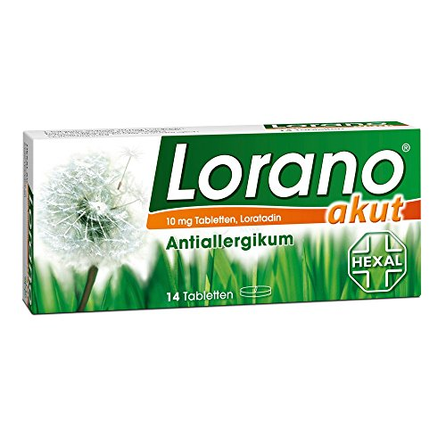 Lorano akut Tabletten, 14 St.
