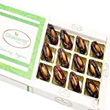 #7: Ghasitaram Gifts Mother's Day Gifts - Premum Dates with Almonds in White Box