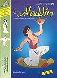 Disneys Aladdin (Aladin). Fensterbilder aus Tonkarton.