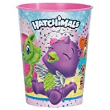 Unique Party 59307 Hatchimals Plastique Tasse, 453,6 gram