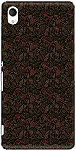The Racoon Lean printed designer hard back mobile phone case cover for Sony Xperia M4 Aqua. (light mead)