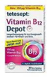 tetesept Vitamin B12 Depot Minitabletten – Mit Vitamin B12 zur Langzeitversorgung des Energiestoffwechsels - für Körper und Geist – (5er Pack) 5 x 30 Minitabletten [Nahrungsergänzungsmittel]