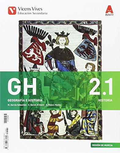GH 2 MURCIA (HIST/GEO) + SEP GEO AULA 3D: 000002 - 9788468236582