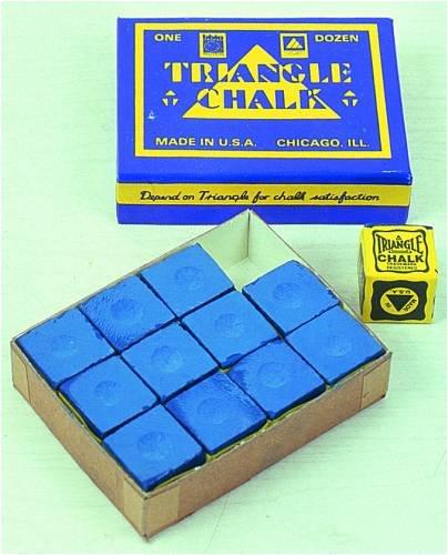 Billardkreide Triangle blau (Billard Kreide Triangle)