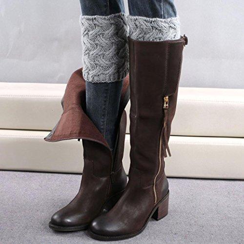 Xinantime , Chaussures premiers pas pour bébé (fille) kaki gris
