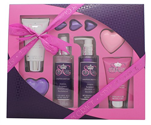 Style & Grace Heavenly Pamper Kit Geschenkset – 6-teilig