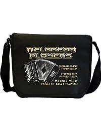 Melodeon Squeeze Harder - Sheet Music Document Bag Musik Notentasche MusicaliTee