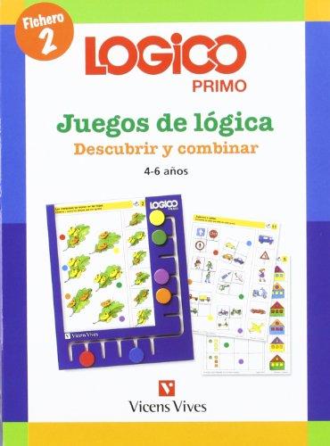 Lógico primo, descubrir y combinar, juegos de lógica, Educación Infantil, 4-6 años. Fichero 2 (Logico Primo)