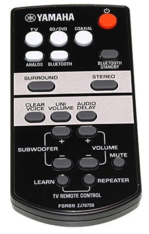 Yamaha zj787500/fsr66Télécommande pour YAS de 103Barre de