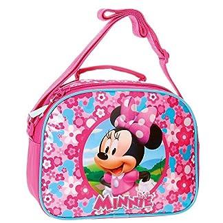 Disney Minnie Pink Neceser de Viaje, 25 cm, 4.75 Litros, Rosa