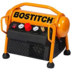 Bostitch MRC6-E Compresseur MINI ROLL CAGE 6L 230V 8 bar 1100W - (compresseur seul, cloueur et/ou agrafeuse vendus séparément)