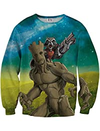 Sudadera Groot and rocket sweater MV-MA018