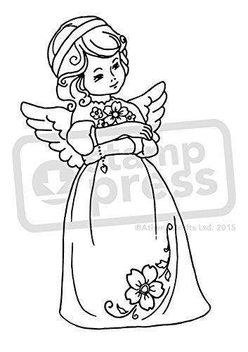 Azeeda A7 'Engel' Stempel (Unmontiert) (SP00008983)