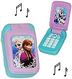 Handy mit Sound -  Disney die Eiskönigin - Frozen  - für Kinder / Jungen & Mädchen - Auto - elektrisches Kinderhandy - Klapphandy Telefon - Lernhandy / Kind..