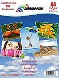 LabelHeaven–100Blatt Fotopapier A4Premium Glanz 230g